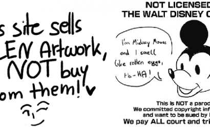 Artists fight back against automated copyright infringement.