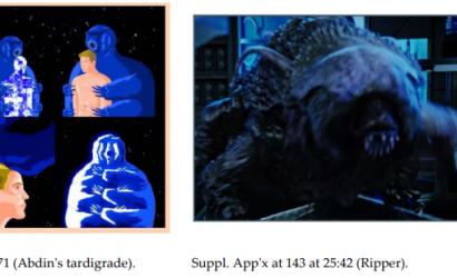 Science fiction stories featuring tardigrade not substantially similar, no copyright infringement. ABDIN, v. CBS