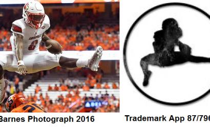 NFL player uses an image of himself to make a trademark, gets sued for copyright infringement. BARNES v. JACKSON