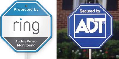 蓝色八角形的商标争议。ADT诉RING案