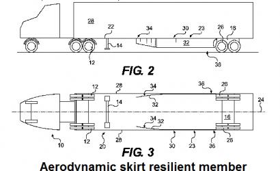 Aerodynamic truck skirt patent found partially invalid.  TRANSTEX v. LAYDON