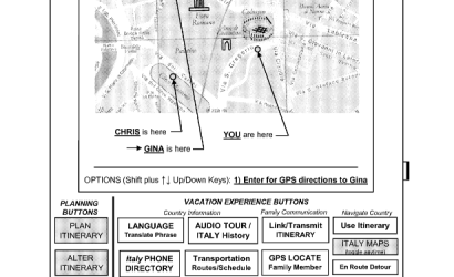 Patent application for travel planning device rejected as ineligible subject matter. IN RE: BONGIORNO