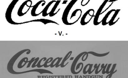Trademark for concealed carry opposed by soda manufacturer.  COCA-COLA v. HOFF